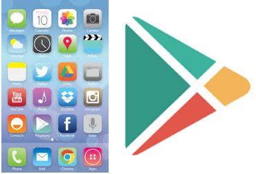 Play Store download for iPhone, iPad